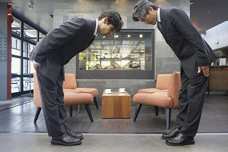 chào hỏi - tiếng Nhật công sở