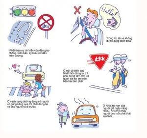 Quy tắc dành cho người lái xe máy, ô tô trong văn hóa giao thông Nhật Bản