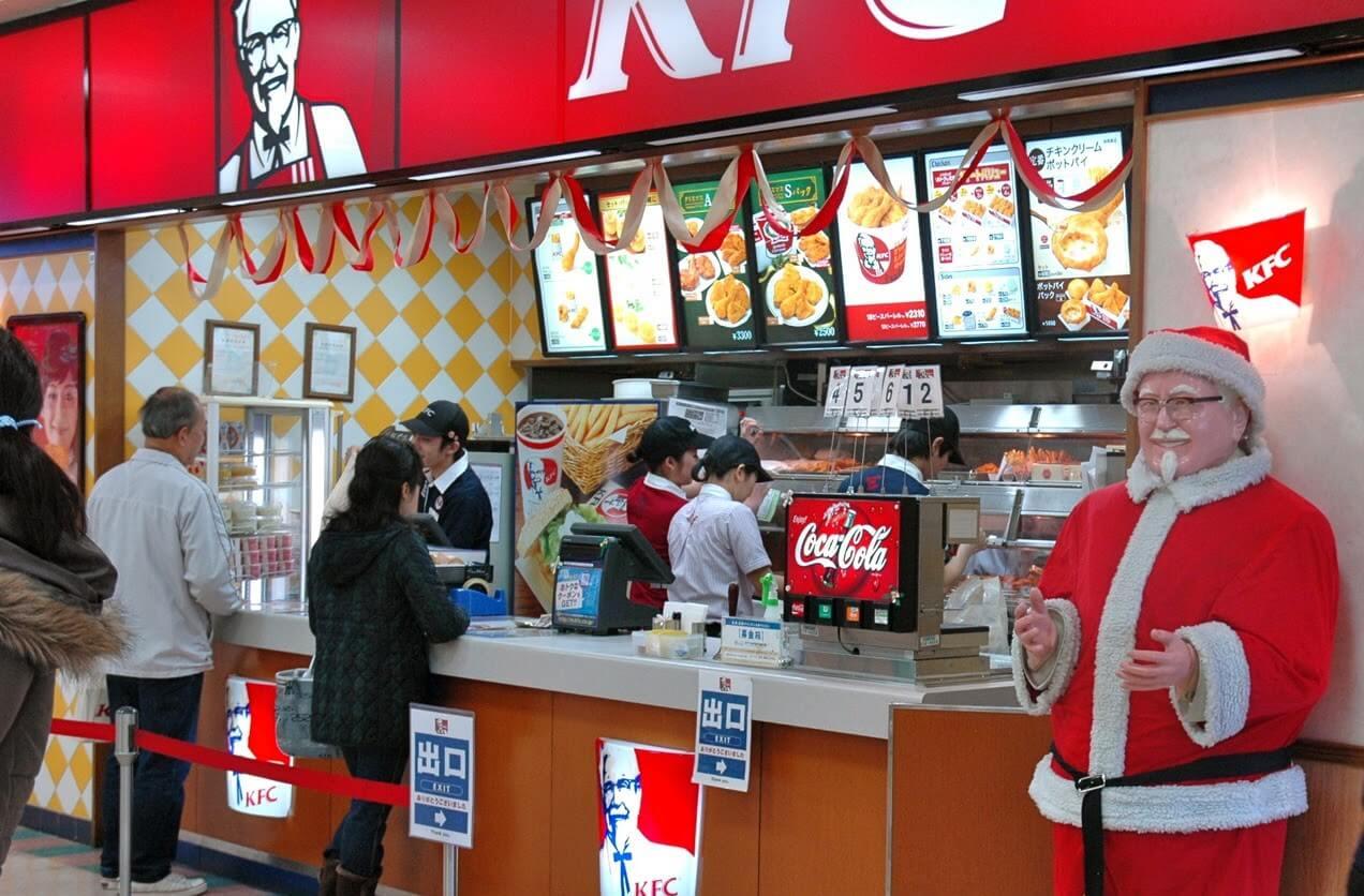 Truyền thống Nhật Bản - KFC vào lễ Giáng Sinh
