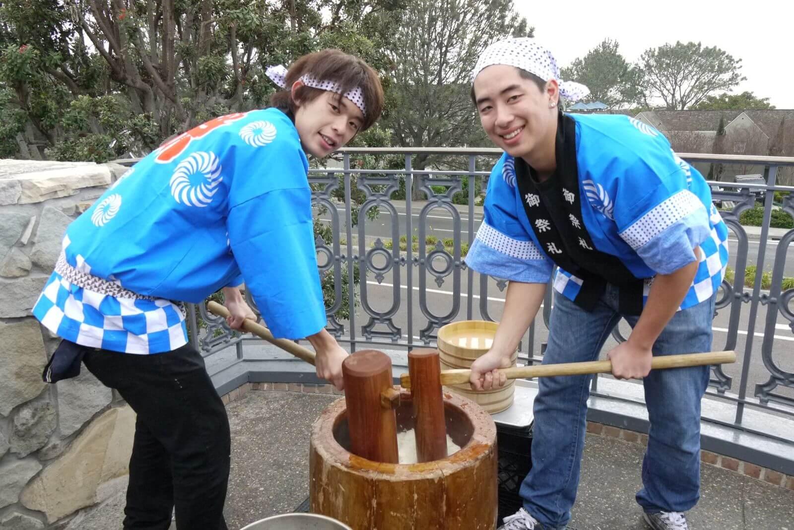Truyền thống Nhật Bản - Làm bánh Mochi