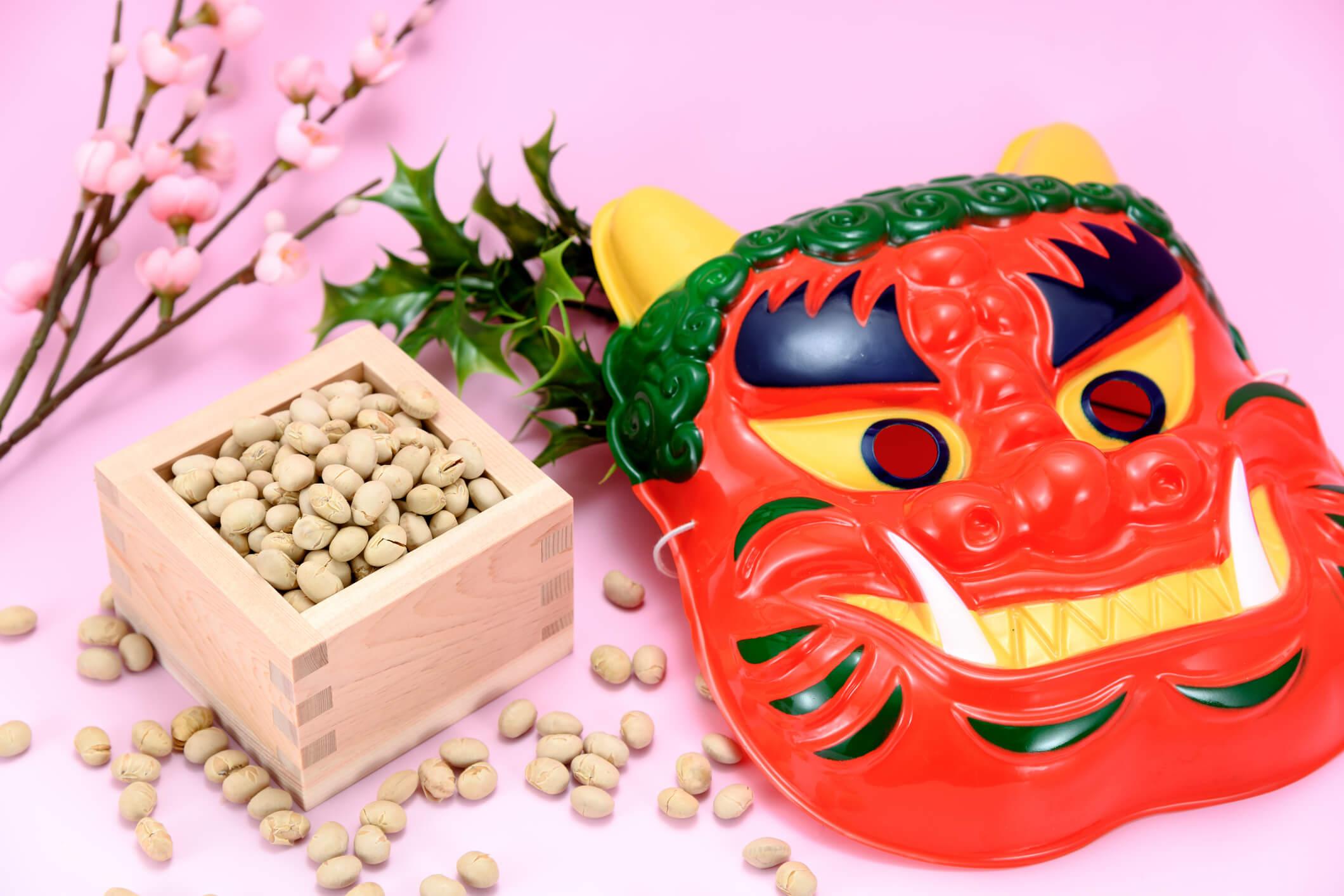 Truyền thống Nhật Bản - Ném đậu Mamemaki