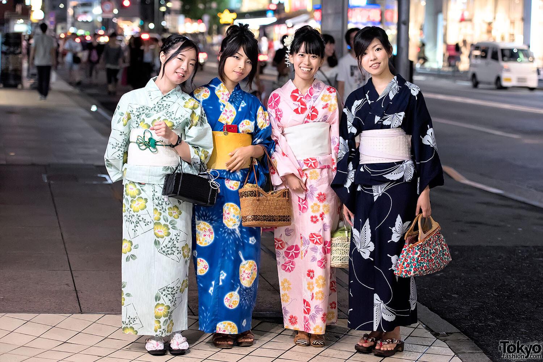 Truyền thống Nhật Bản - Yukata mùa hè